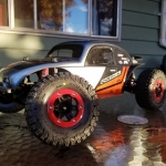 <strong class='magnific-title'>2wd Sash</strong> 2wd slash with Pro-Line ProTrac suspension arm kit, Pro-Line split 6 beadlock wheels, BFGoodrich KO2 replica tires and Pro-Line baja bug body