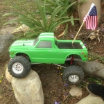 <strong class='magnific-title'>Pro-Line Chevy</strong> Axial SCX with Pro-Line Chevy body.