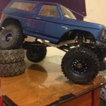 <strong class='magnific-title'>Trx 4 and Scx10.2</strong> Both bodies I painted myself.