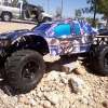 <strong class='magnific-title'>TRAXXAS SLASH 2X4</strong> Pro-Line Flo-Tek Ford Raptor BODY  WITH MADHATTER GRAPHIC'S BY AMR RC  RUNNING ON Pro-Line 2.2 Mashers ON 2.8 WHEEL'S
