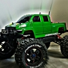 <strong class='magnific-title'>green means GO!!</strong> Pro-Line trenchers desperado wheels Pro-Line topkick body Castle creations mamba monster Traxxas tierod kit Traxxas bigbore shock kit 2x 3S 5600 lipos
