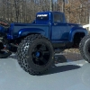 <strong class='magnific-title'>Traxxas E-Revo</strong> This is my E-Revo with the Pro-Line '56 Ford body and a set of Pro-Line Badlands tires