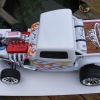 <strong class='magnific-title'>Slash 2WD - Hot Rod</strong> Pro Line super Rat Rod body shell converted to a Custom made Hot Rod - One of the nicest body´s from Pro Line i have ever seen.