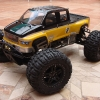 <strong class='magnific-title'>Savage xl 5.9</strong> I love this truck it has Pro-Line GMC TopKick body, Trencher tires, integy fuel guard, bulkhead brace, HD rear hub carriers, GH throttle mix arm,ofna fuel filter, HPI reverse module, roll cage, wheelie bar,  sway bars, bulletproof diffs, futaba 4pl radio, led lights with 4 flashing modes and more.