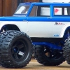 <strong class='magnific-title'>Bronco</strong> These are my Ford 73 Bronco entries. The Pro-Line Bodies are mounted on custom E-MAXX chassis to match the overall color scheme. Wheels are Desperado 1/2 offset with Trencher X tires on the blue truck. The second truck is my black and silver entry. My name is Taylor! Thank you for your consideration Pro-Line.