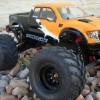 "<strong class='magnific-title'>AbSoLooT Stampede</strong> 2wd Traxxas Stampede Scratch built from ground up. Body Custom Painted with ""inlaid"" Carbon Fiber as opposed to a sticker application. Custom Stencil Design by me.  Pro-Line Top/Middle/&