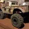 <strong class='magnific-title'>Zombie Res Truck</strong> '66 F100 body on a well heeled moa crawler chassis.