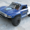 <strong class='magnific-title'>2wd Slash</strong> My 2wd Slash with the new Desert Militia Body, Air brushed by JawDesigns. I have a lot of PL parts, PL front-rear shock towers, PL front-rear shocks, PL front-rear A-arms, PL front-rear skid plates, PL front bumper, PL wheels-tires