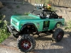 <strong class='magnific-title'>Axial SCX10</strong> Scx10 with Pro-Line Bronco CGR body, Western Bumpers, PL 90mm shocks and scale accessories. LED lighting system installed with winch. Powering this rig is a 35 turn brushed motor and 2.2 aluminum rims/ tires keep it planted