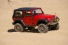 <strong class='magnific-title'>Red Rubicon</strong> My shortened Axial Honcho with new Pro-Line Rubicon body and Flat Iron tires having fun in sand dunes.