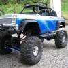 <strong class='magnific-title'>P-L Chevy Blazer on Axial AX10</strong> My Axial Rock Crawler with as many Pro-Line parts as I could get on it. I love to paint RC cars!