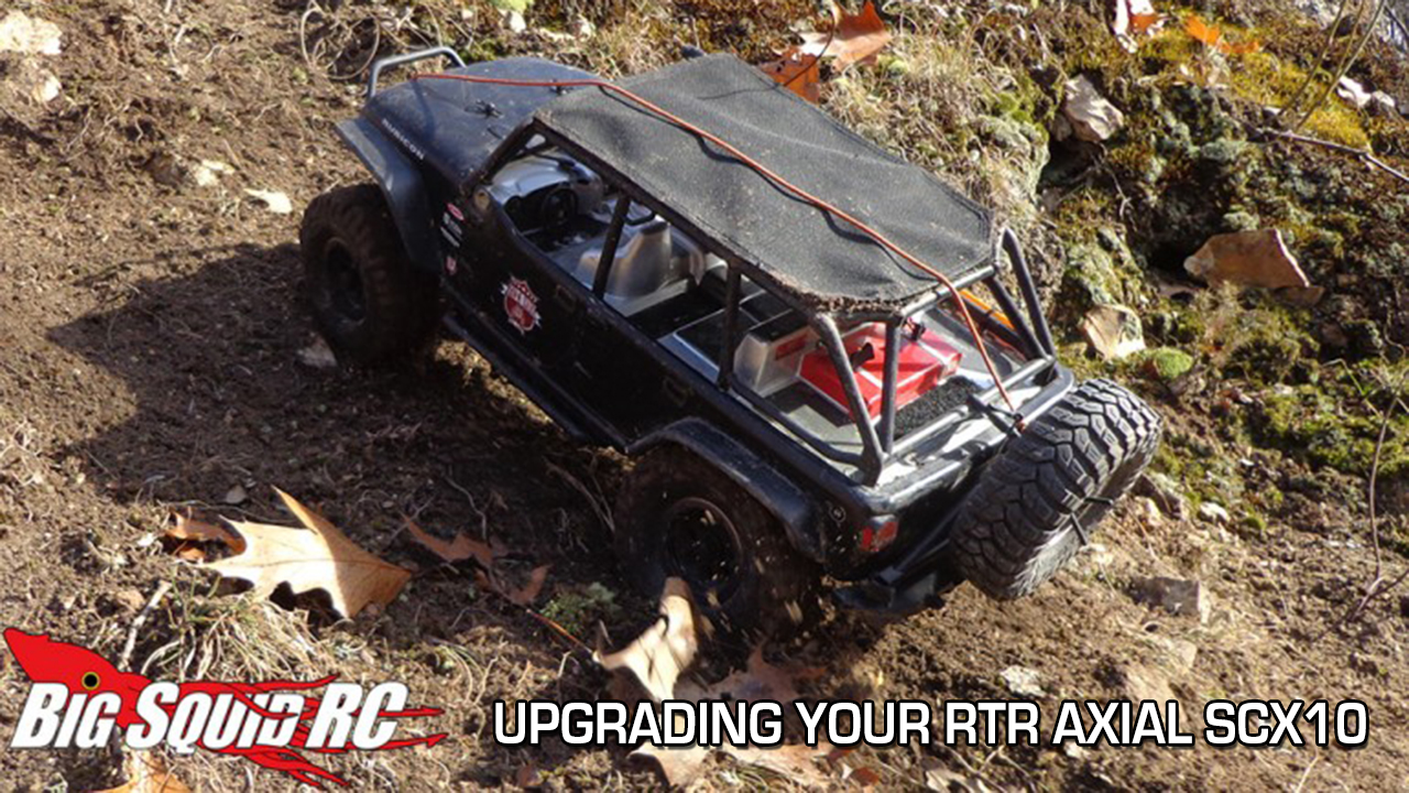 Big Squid RC: Upgrading Your RTR Axial SCX10 | Pro-Line Factory Team