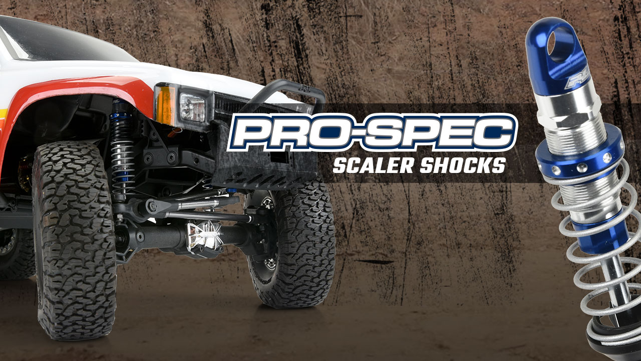 Pro-Line Racing Pro-Spec Scaler Shocks for RC Crawlers 6316-01 90mm-95mm