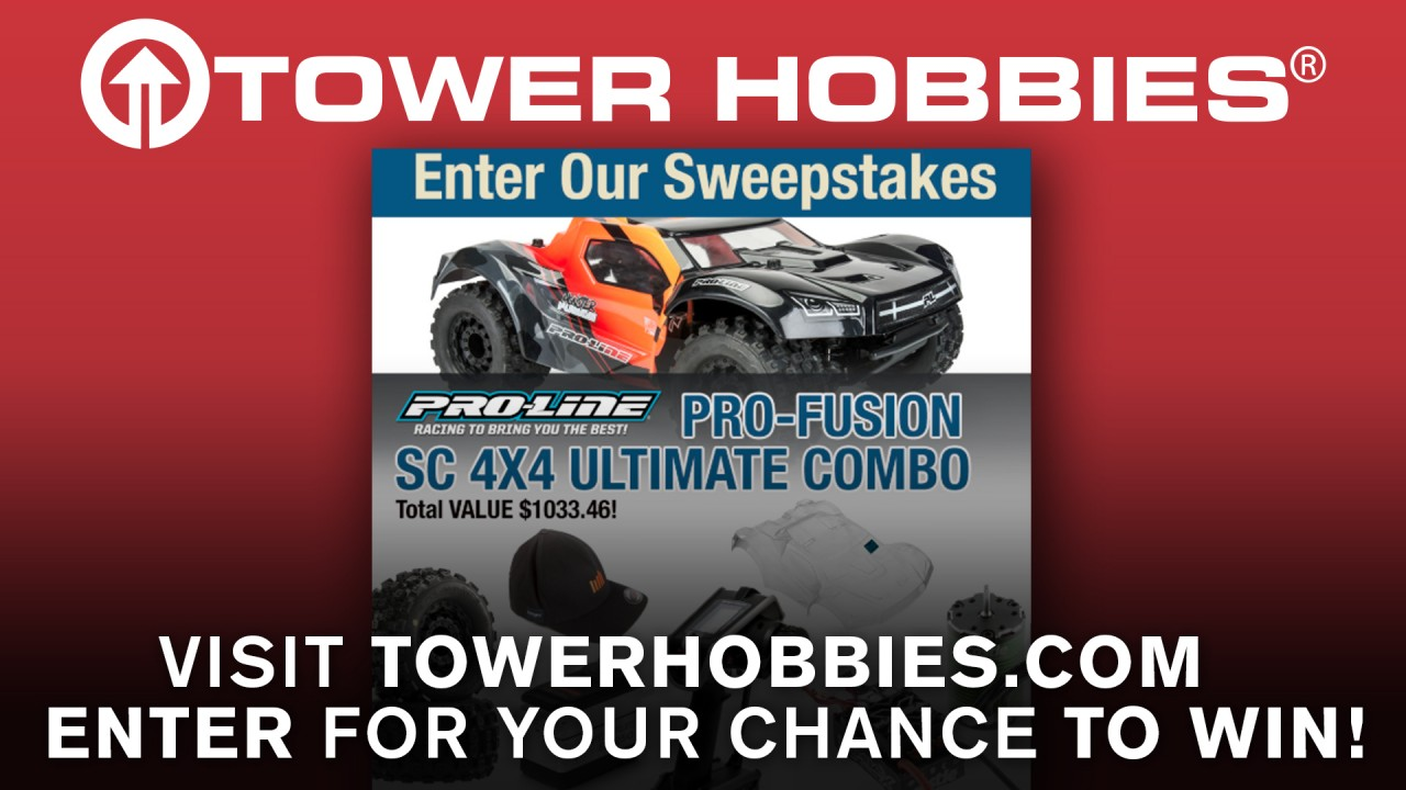 Tower Hobbies Sweepstakes – Win a PRO-FUSION SC 4×4
