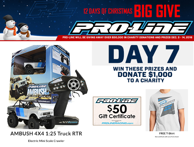 2ef3892ab6 PRO-LINE S 12 DAYS OF CHRISTMAS BIG GIVE – DAY 7