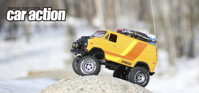 Rc Car Action >> Rc Car Action Pro Line Ambush Custom Van Pro Line Factory Team