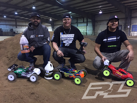 Adam Drake at Wheatland Wyoming RC Racing Club on Pro-Line