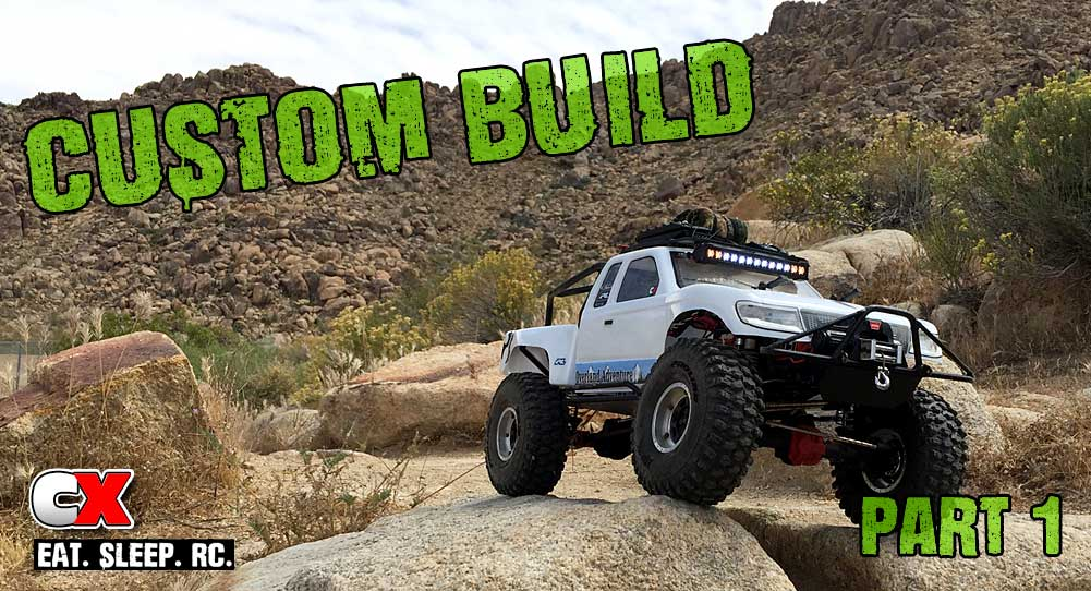 Competition X Project: Axial SCX10 II Trail Truck Build – Part ...