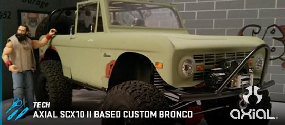Axial Racing: SCX10 II Based Custom Bronco Featuring Pro-Line Racing ...